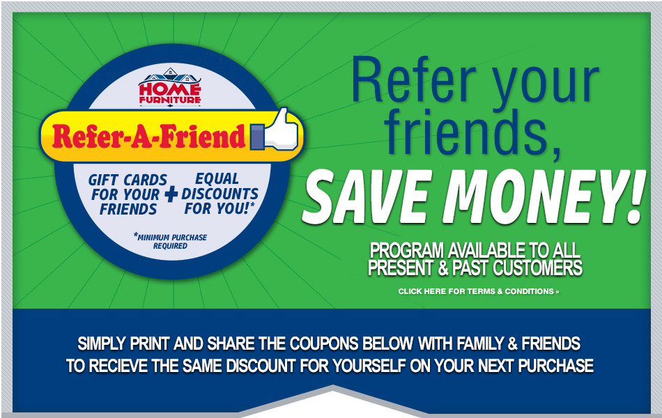 Referrals | Coupons