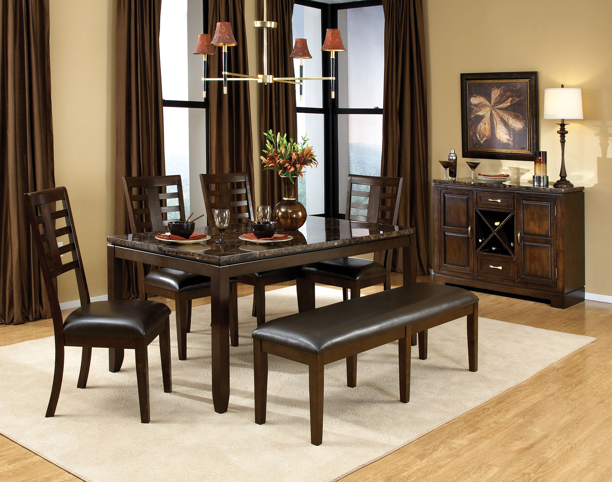Standard Furniture Bella Dining Room 16840 Home Furniture