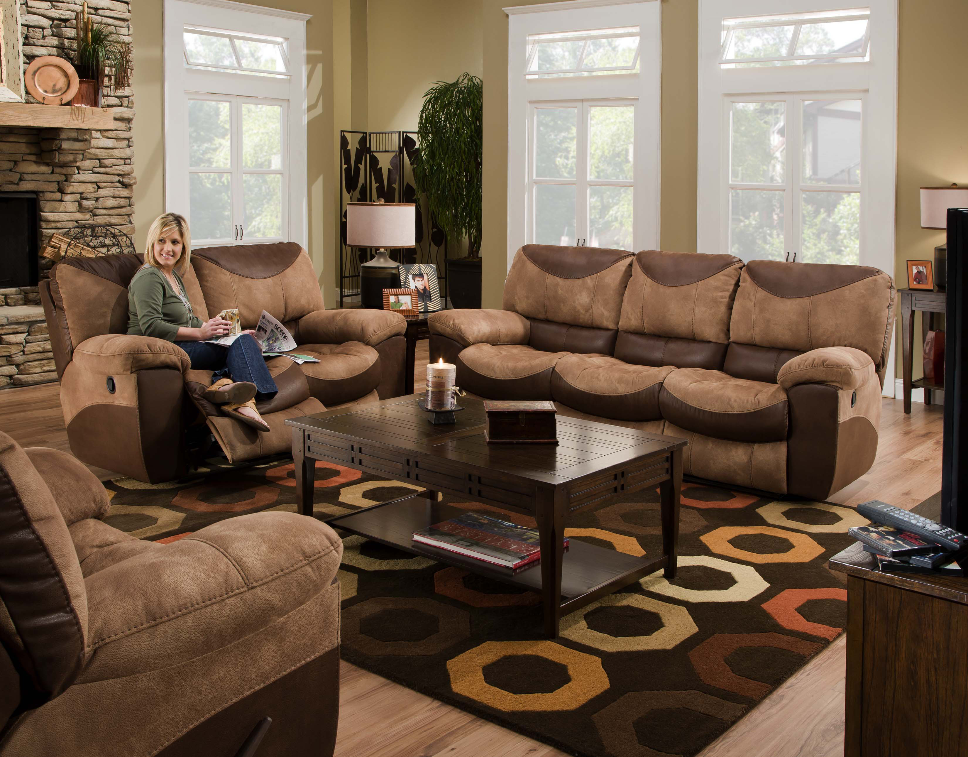Catnapper Furniture Portman Reclining Upholstery Collection 196