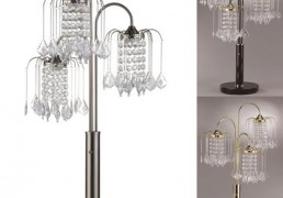 Crown Mark Lamps And Lighting Chandelier Table Touch Lamp Home Furniture
