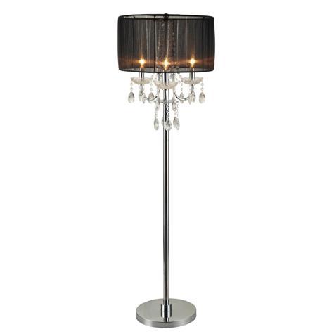 chandelier floor lamp home lighting. Crown Mark Lamps And Lighting Chandelier Floor Lamp 6121-F Home H