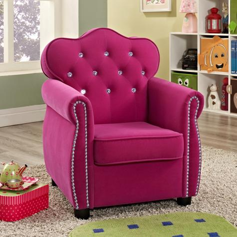 Delicieux Crown Mark Youth Bedroom Amelia Kids Chair 7009