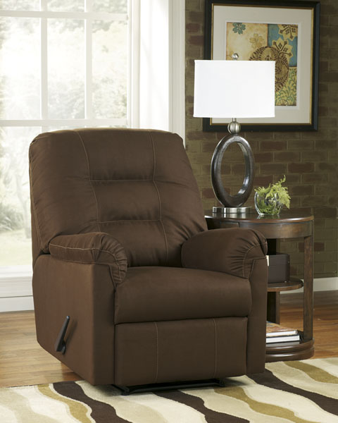 Ashley Furniture Harold Point Zero Wall Recliner Cafe 75600 Home Furniture