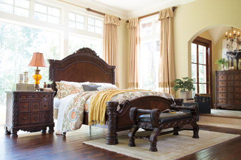 Millennium By Ashley Furniture North Shore Bedroom Group B553 Home Furniture