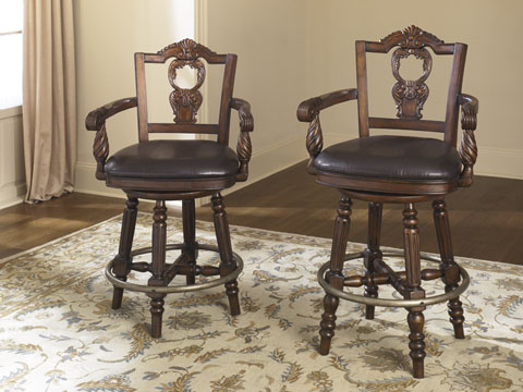 Ashley Furniture North Shore Dining Room D553 Barstool