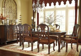 Ashley Furniture North Shore Dining Room D553 Hutch Buffett Home Furniture