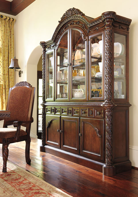 Ashley Furniture North Shore Dining Room D553 Hutch