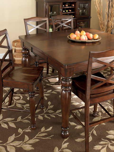 ashley furniture porter dining room set interesting