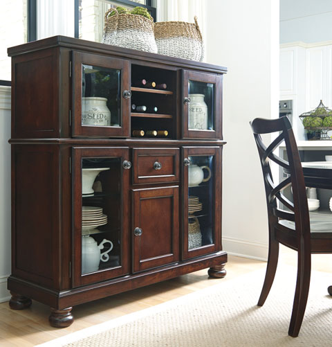 furniture porter dining room d697 server home