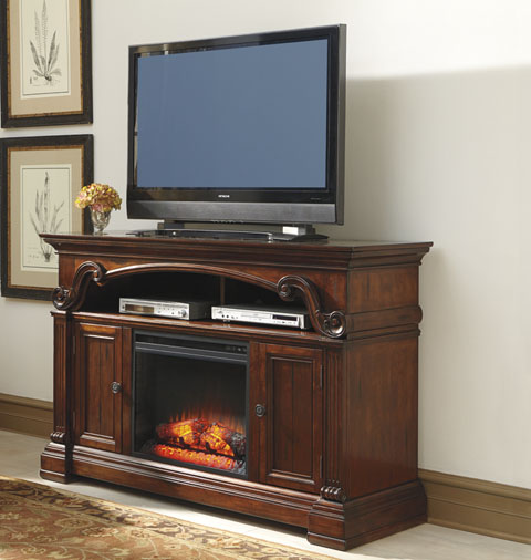 Ashley Furniture Alymere Entertainment Center W669 Home Furniture