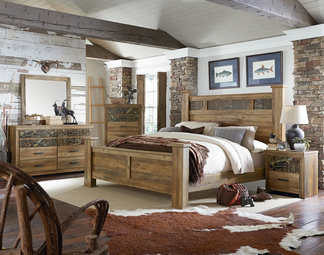 Standard Furniture 55450 Habitat Camo Bedroom Suite Home