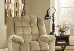 Ashley Furniture Ludden Rocker Recliner Cocoa 81104 Home